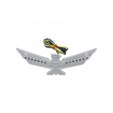 LED AMBAR LIGHTED CHROME EAGLE EMBLEM 1500/1800