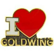 PIN'S I LOVE GOLDWING